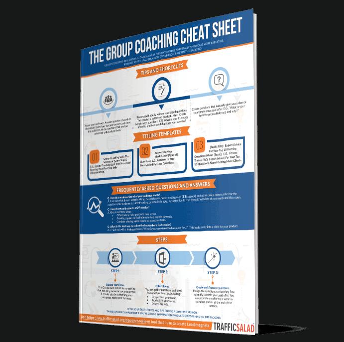 Group Coaching Cheat sheet